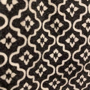 Loft Outlet 16 Curvy Fit Black/white pattern